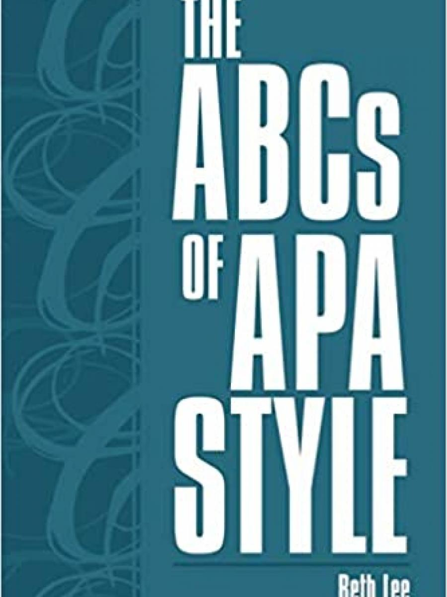 Cover of The ABCs of APA Style