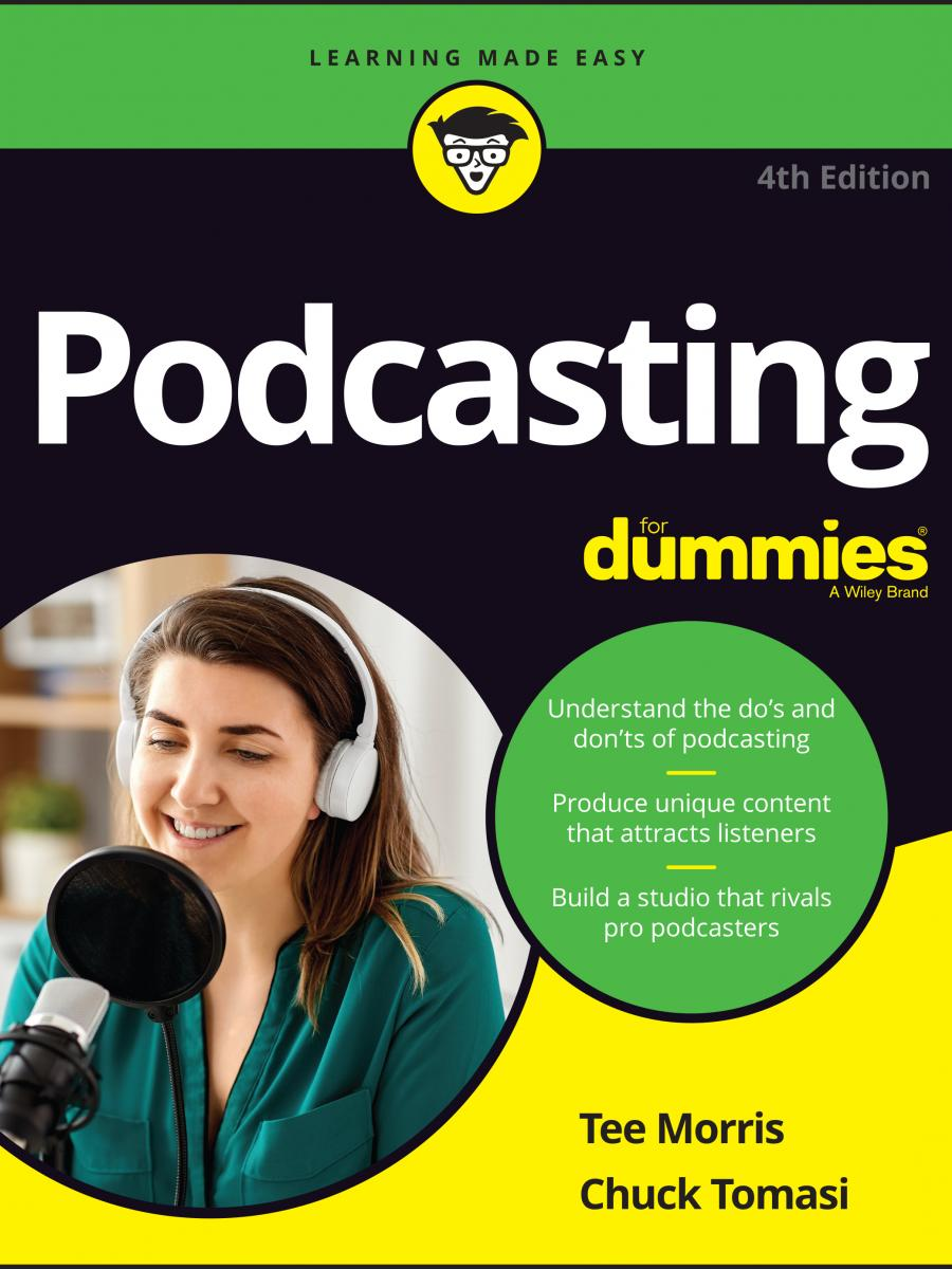Cover of Podcasting for Dummies by Chuck Tomasi