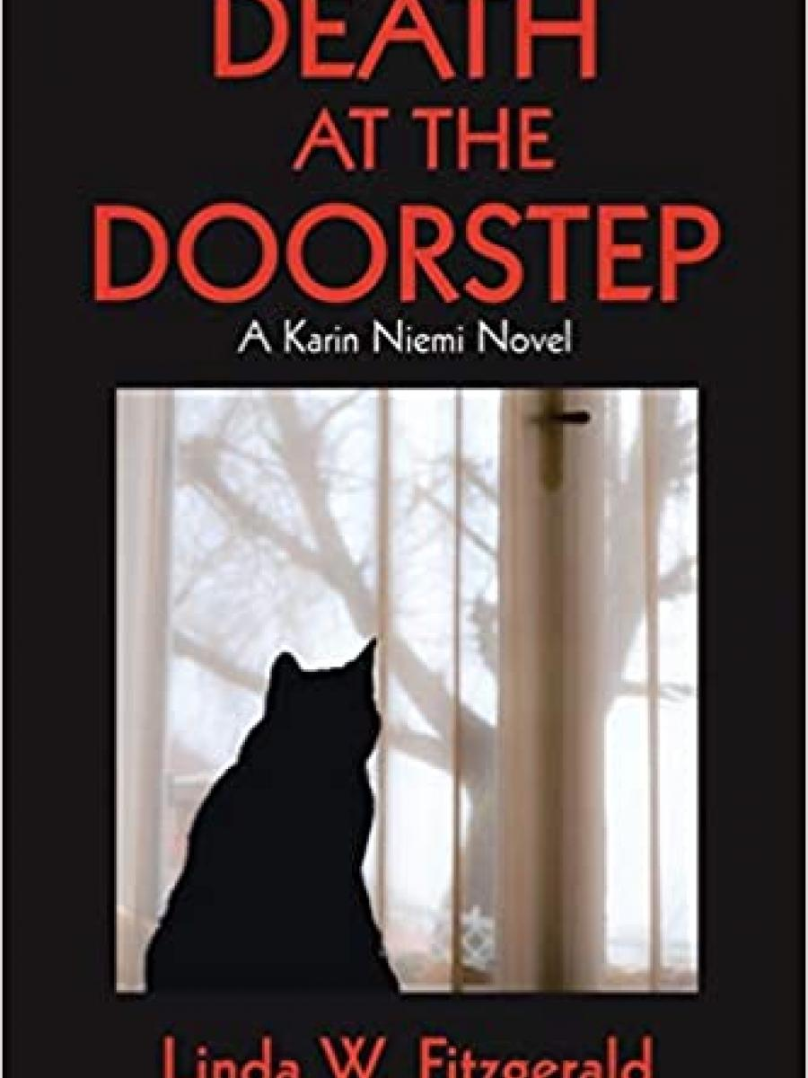 Cover of Death at the Doorstep by Linda FItzgerald