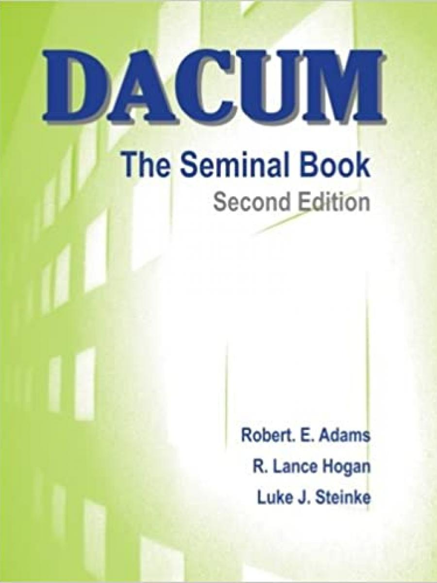Cover of DACUM: Seminal Book by Luke Steinke