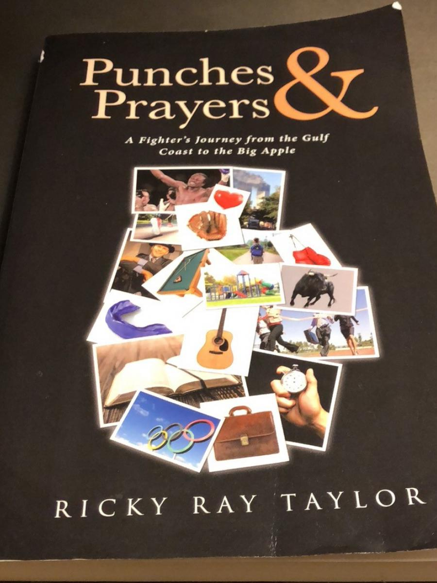 Cover of Punches & Prayers by Ricky Ray Taylor
