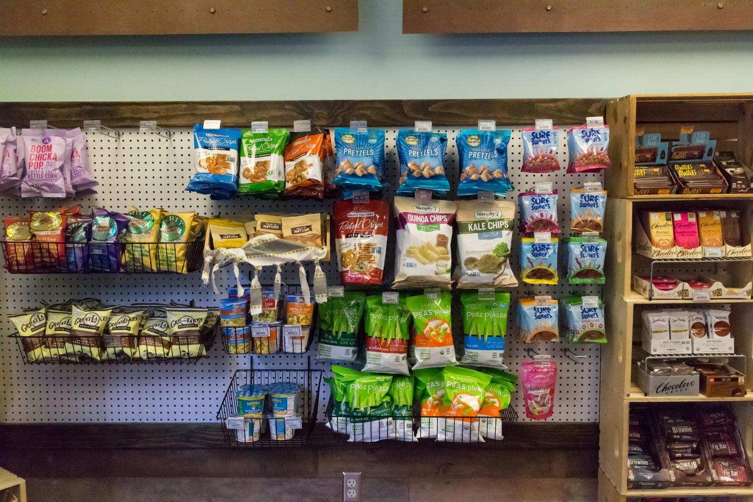 Sundre snack wall