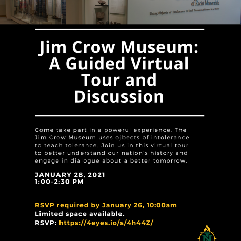 Jim Crow Museum: A guided virtual tour and discussion