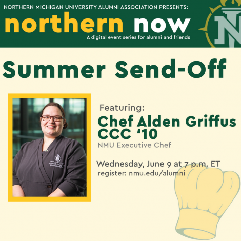 June 12 Northern Now with Chef Alden Griffus