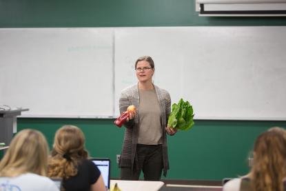 nutrition professor teaching