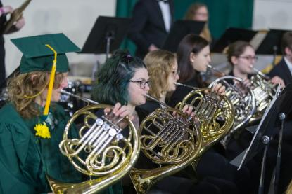 Band at Commencement