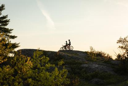 Mountain biking in Marquette