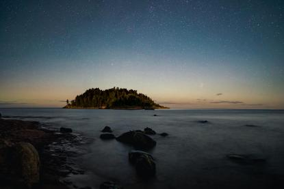 stargazing in Marquette