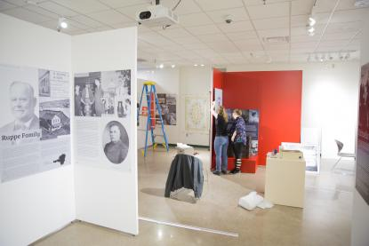 Beaumier Heritage Center and Museum install