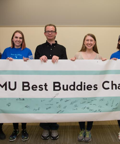 Congratulations to Best Buddies for the winning the Diversity Event/Project of the Year Award in 2018-19!