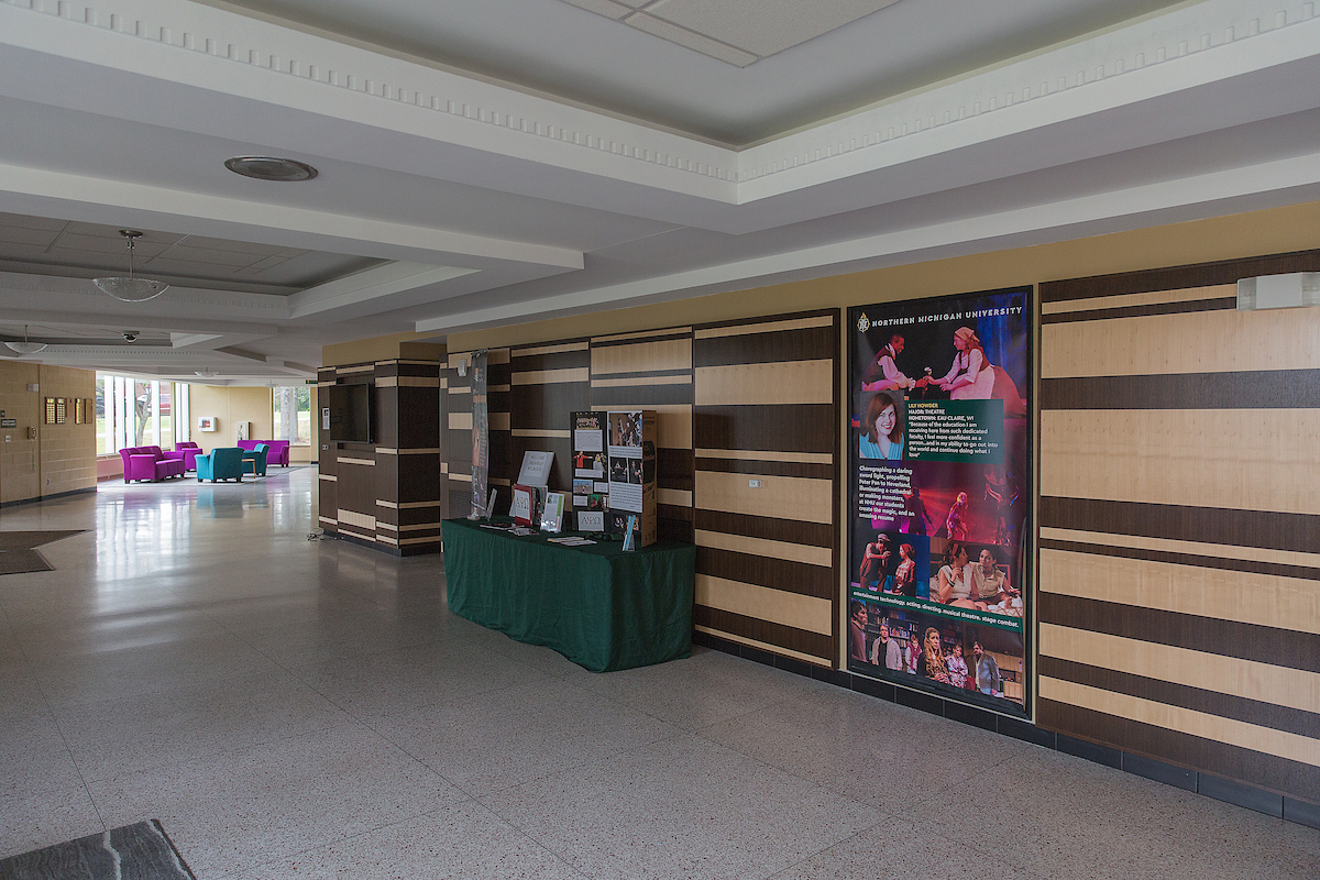 Forest Roberts Theatre Lobby