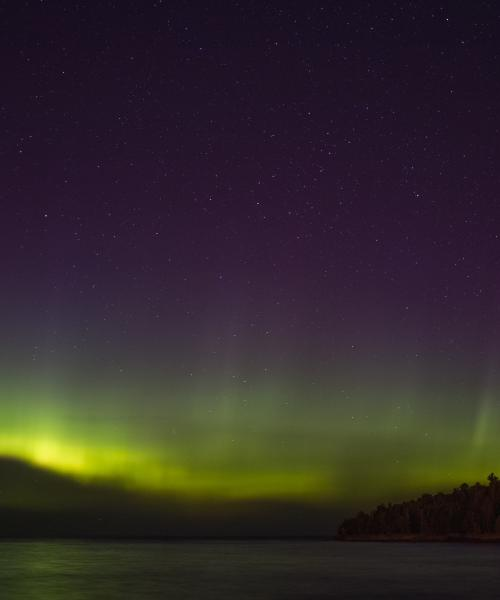 Northern Lights over Presque Isle